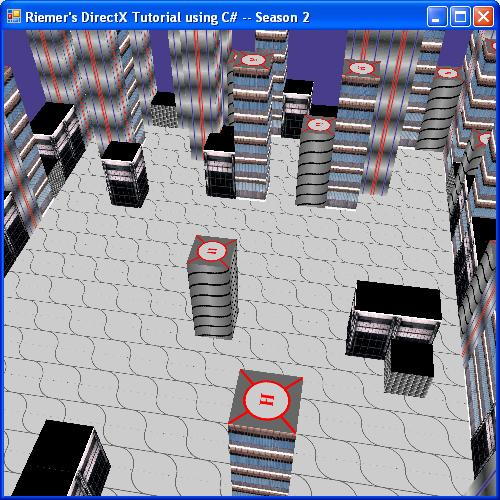 DirectX Tutorial 4 - Creating the 3D City