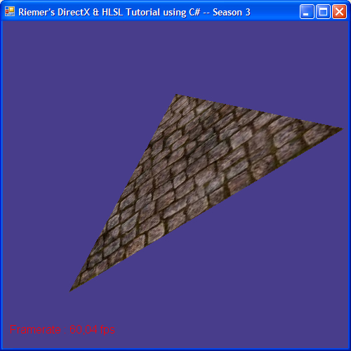 DirectX Tutorial 6 - Textured Triangle