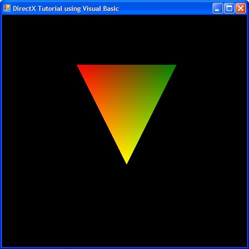 DirectX 9 Tutorial using C#, C++ and Visual Basic > The