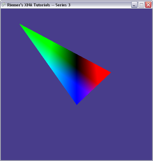 DirectX Tutorial 6 - Per-pixel colors