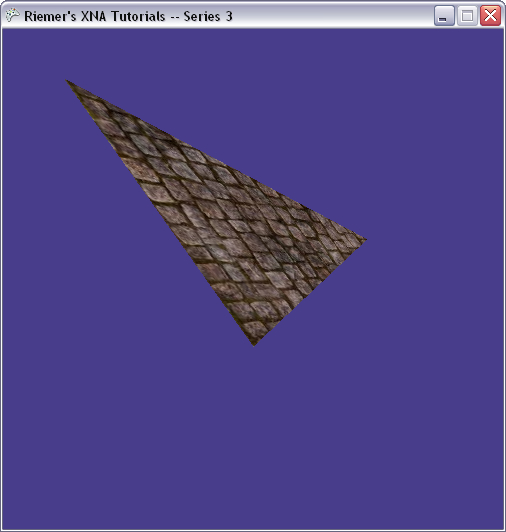 Drawing Lines In Xna : Riemers xna tutorial gt textured triangle