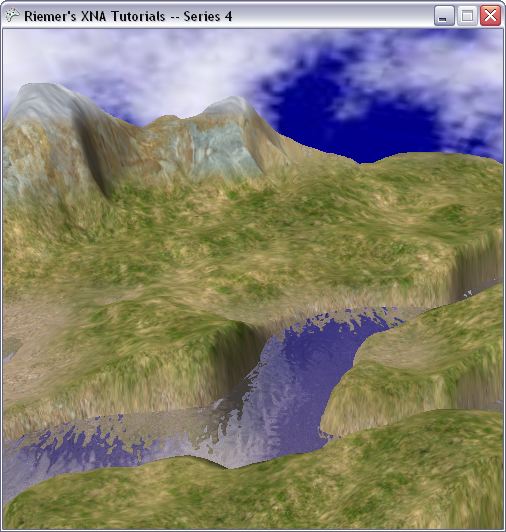 DirectX Tutorial 13 - Moving water