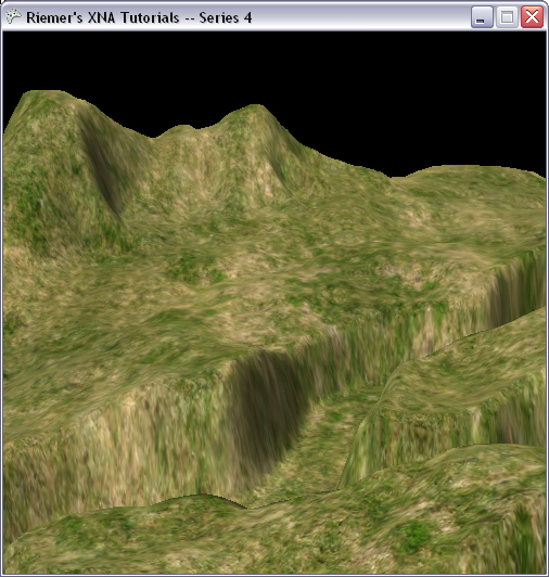 DirectX Tutorial 3 - Textured terrain